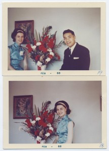 Mum and Dad, back when the cheongsam was new!