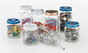 So many ways to reuse baby food jars!